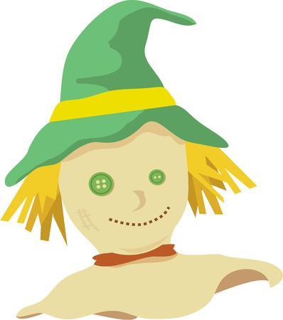 autumn scarecrow: A scarecrow is the perfect autumn symbol.