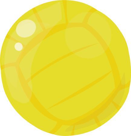 volleyball serve: Sirva un divertido juego de voleibol con este gr�fico. Utilice este dise�o de la bola en el engranaje del club.