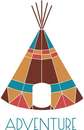 teepee: This teepee is sat apart from typical with vivid geometric color designs.  This is the teepee every pretend indian dreams of