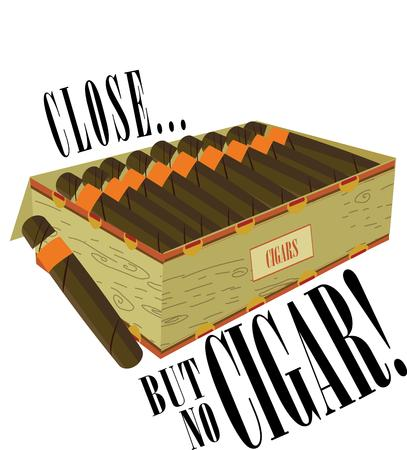 cuban cigar: Light up a stogie and relax.  This box of premium cigars is fragrant and enjoyable.