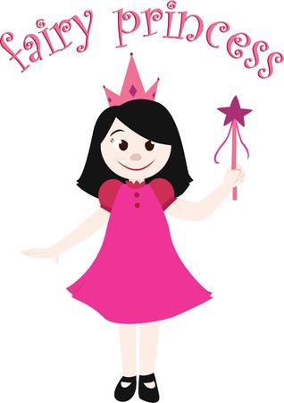 kleine meisjes: Elke kleine meisjes verdient om een prinses te zijn.