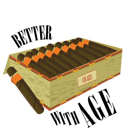 nicotine: Light up a stogie and relax.  This box of premium cigars is fragrant and enjoyable.