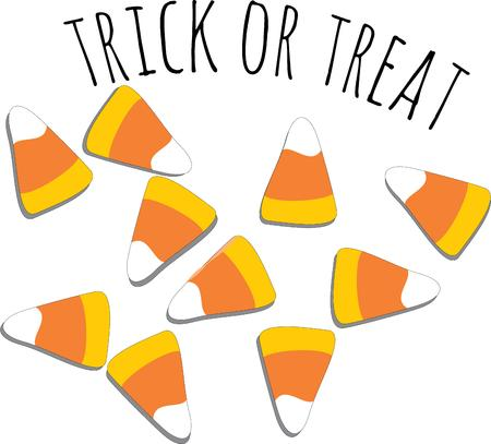 candy corn: Candy corn is the perfect halloween treat.