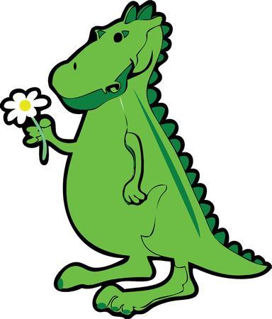 extinction: A dinosaur in love.