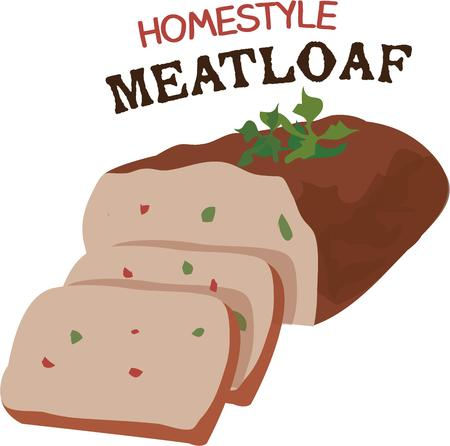 meatloaf: Meatloaf lovers will love this delicious dinner.