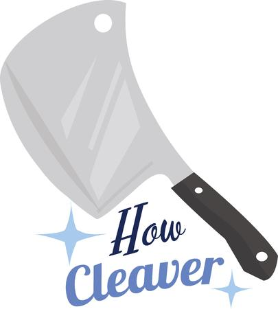 cant: Chefs love a good sharp knife.  A tool cooks cant do without.