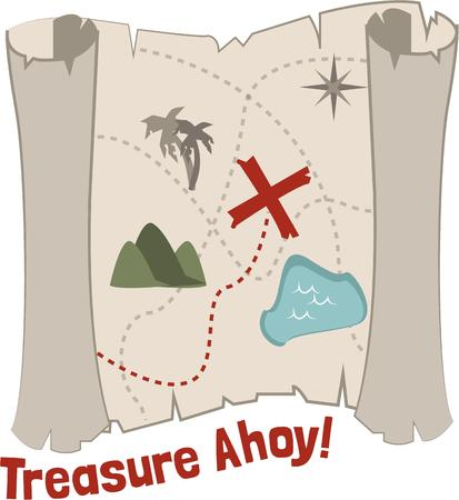 x marks the spot: Treasure hunters will want a good map.