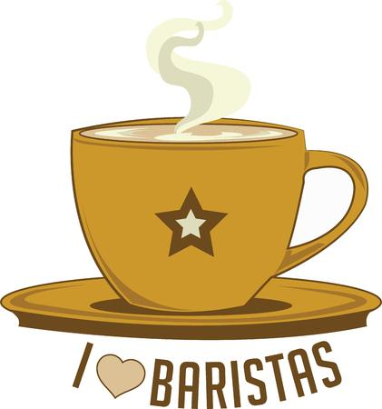 great coffee: Barristas will want a great cup of coffee.