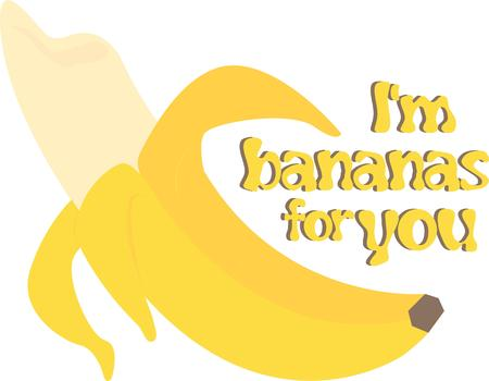plantain: This delicious banana makes you want to take another bite. Illustration