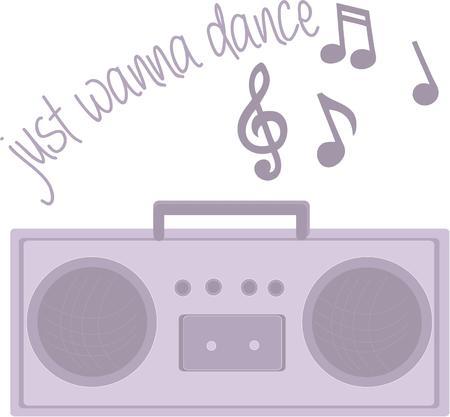 boom box: Teenagers will like having their own boom box radio.