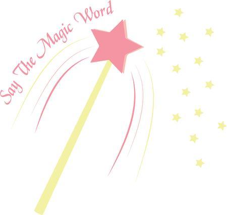 girl magic wand: Give a little girl a magic wand wish.