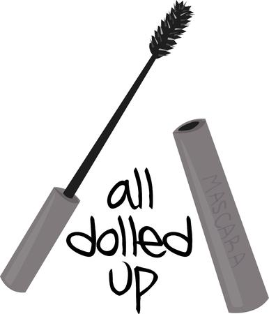 dressing table: Girls will want this mascara for their dressing table.