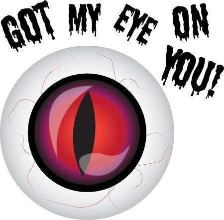 globo ocular: Dar a alguien el mal de ojo con este globo ocular fantas�a. Vectores