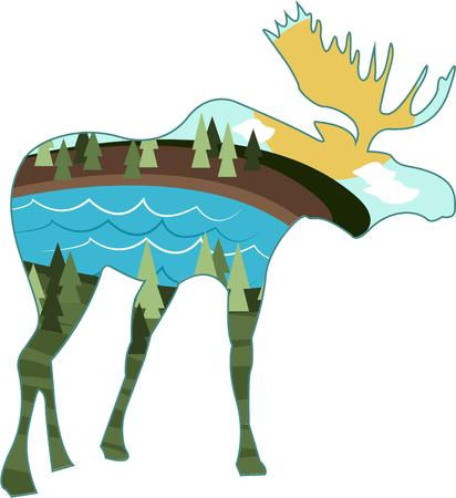 caribou: Nature lovers will all want to express themselves with this moose.