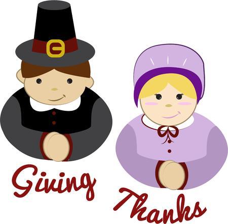 pioneer: Thanksgiving p�lerins font une b�n�diction sp�ciale de vacances.