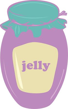 preserve: Have a good jar of jelly in your kitchen.