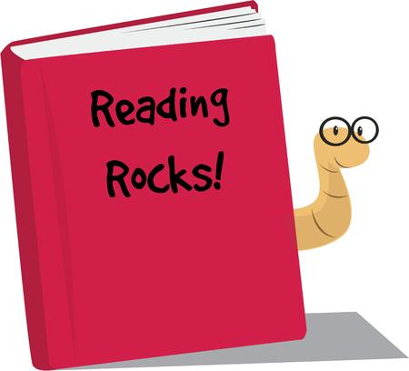book worm: Book lovers and students wil adore a book worm of their own.