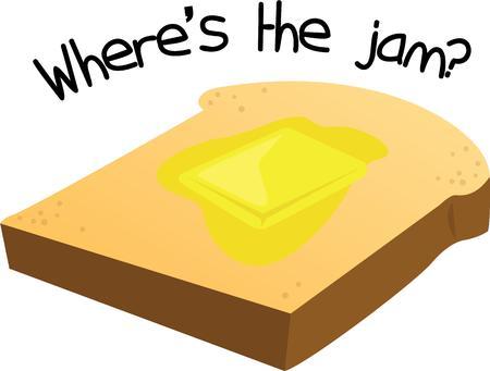 pan con mantequilla: Los cocineros se remontan a lo b�sico con pan y mantequilla.