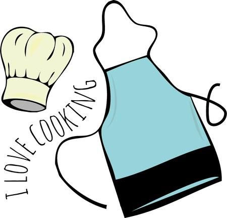 pinafore: Every cook needs their accessories.