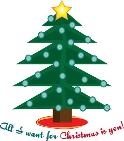 tannenbaum: Have a merry Christmas with a decorated tree.