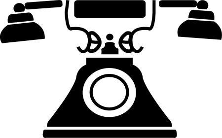 vintage telefoon: