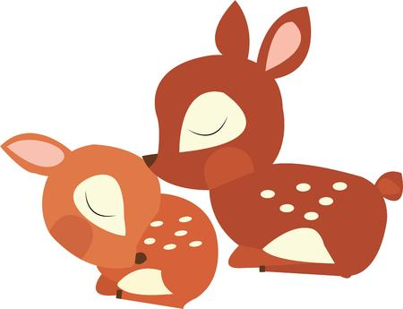 hart: Little kids will all want these baby deer. Illustration