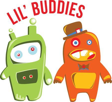 bionico: Nerds e bambini amano robot divertenti.