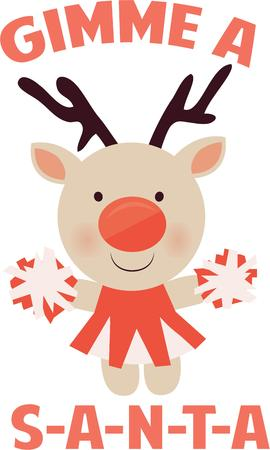 nosed: Let this reindeer cheer in the holidays for you.