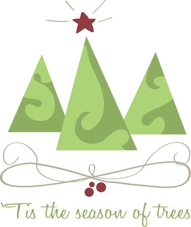 tannenbaum: Decorate for Christmas with lovely trees.