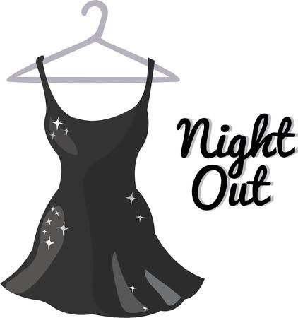 little black dress: Every woman needs a little black dress.