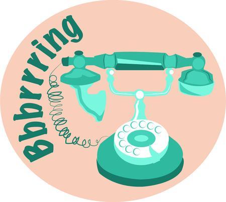 vintage telephone: A vintage telephone makes an elegant home appliance.