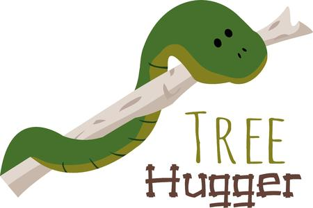 reptilian: Reptile lovers will like this cute snake.