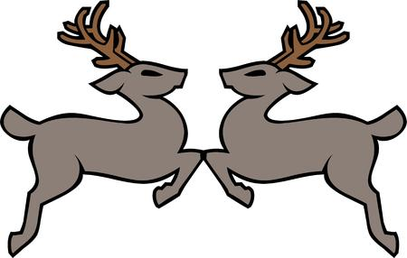 nosed: Have reindeer for your Christmas holiday.