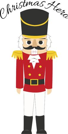 nutcracker: The nutcracker is a holiday icon. Illustration