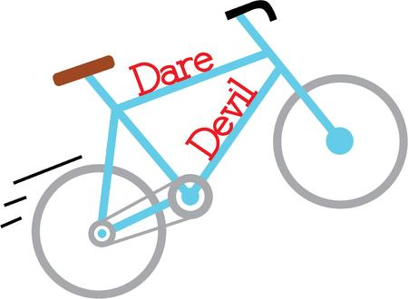 wheeler: Have a fun bike ride with a swift bicycle.