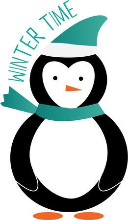 antarctica: Penguins are great winter friends.