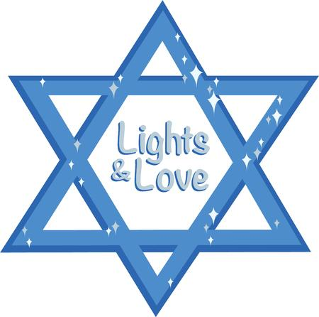 jewish star: Display this Star of David to show pride in Jewish heritage.