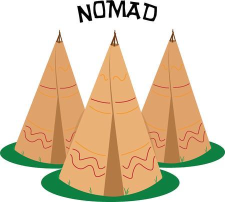 miras: Bir teepee tasarımı ile Hint mirası kutlayın.