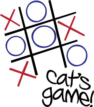 tic tac toe: Play a fun game with this tic tac toe design.