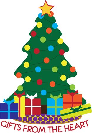 tannenbaum: Have this beautiful tree for Christmas. Illustration