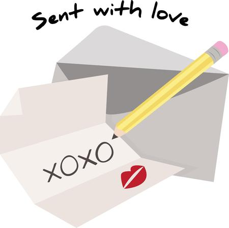 xoxo: Post a love letter for your valentine.