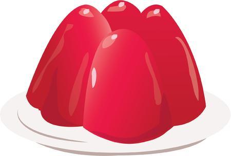 gelatina: Tener un postre delicioso en su cocina.