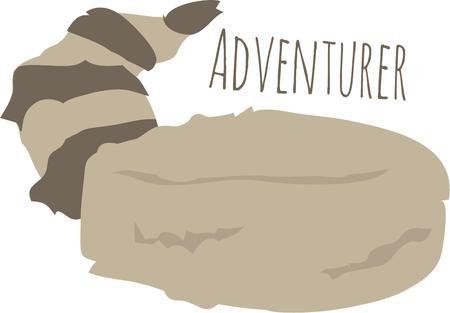 adventurer: Little boys love to play adventure games like Davey Crockett.