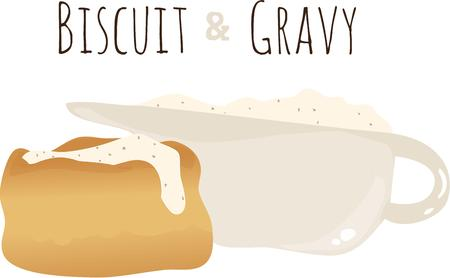gravy: Have a great breakfast with a gravy biscuit.