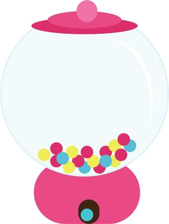 machines: Gumball machines are fun for kids of all ages.