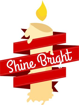 riband: Shine a light for the holidays.