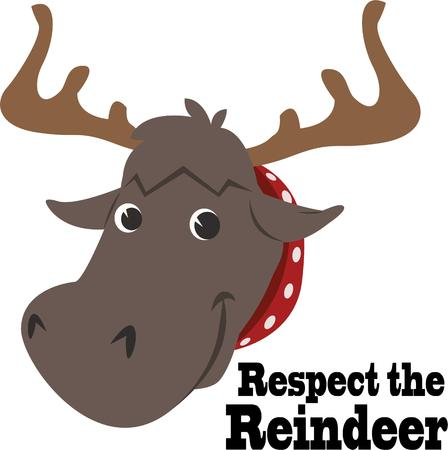 have fun: Have fun with a silly moose head.