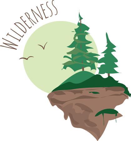 Mountainside: Użyj tego malowniczego zbocza w projekcie.