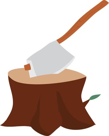 stump: Use this chopped stump for your project.