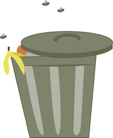 refuse: Use this trash for your smelly project. Illustration
